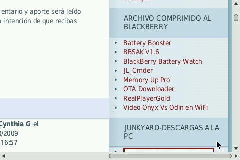 Programa para wipear Blackberrys  - BBsak v1.5
